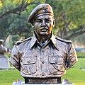 Major R Parameswaran statue at Param Yodha Sthal Delhi.jpg