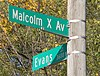 Malcolm X House Site