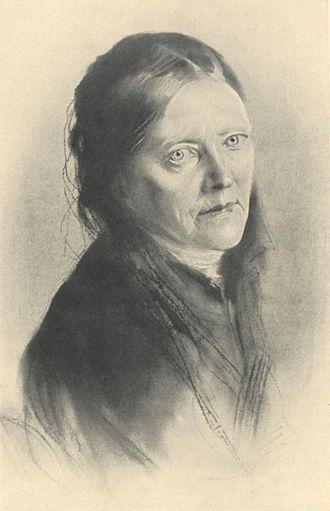 Malwida von Meysenbug - portrait by Franz von Lenbach
