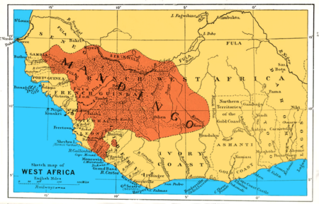 ec262acc7 A map of West Africa showing Mandinka peoples
