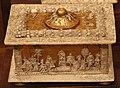Manifattura ferrese o padovana, cofanetto con dorature e decorazioni a pastiglia, fine XV-XVI sec. 04.JPG