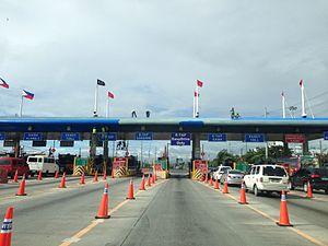Manila–Cavite Expressway - Las Piñas Toll Barrier
