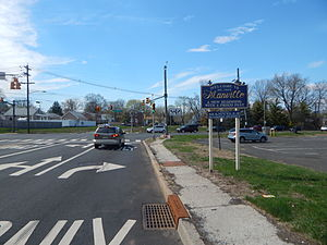 Manville, New Jersey - Entering Manville