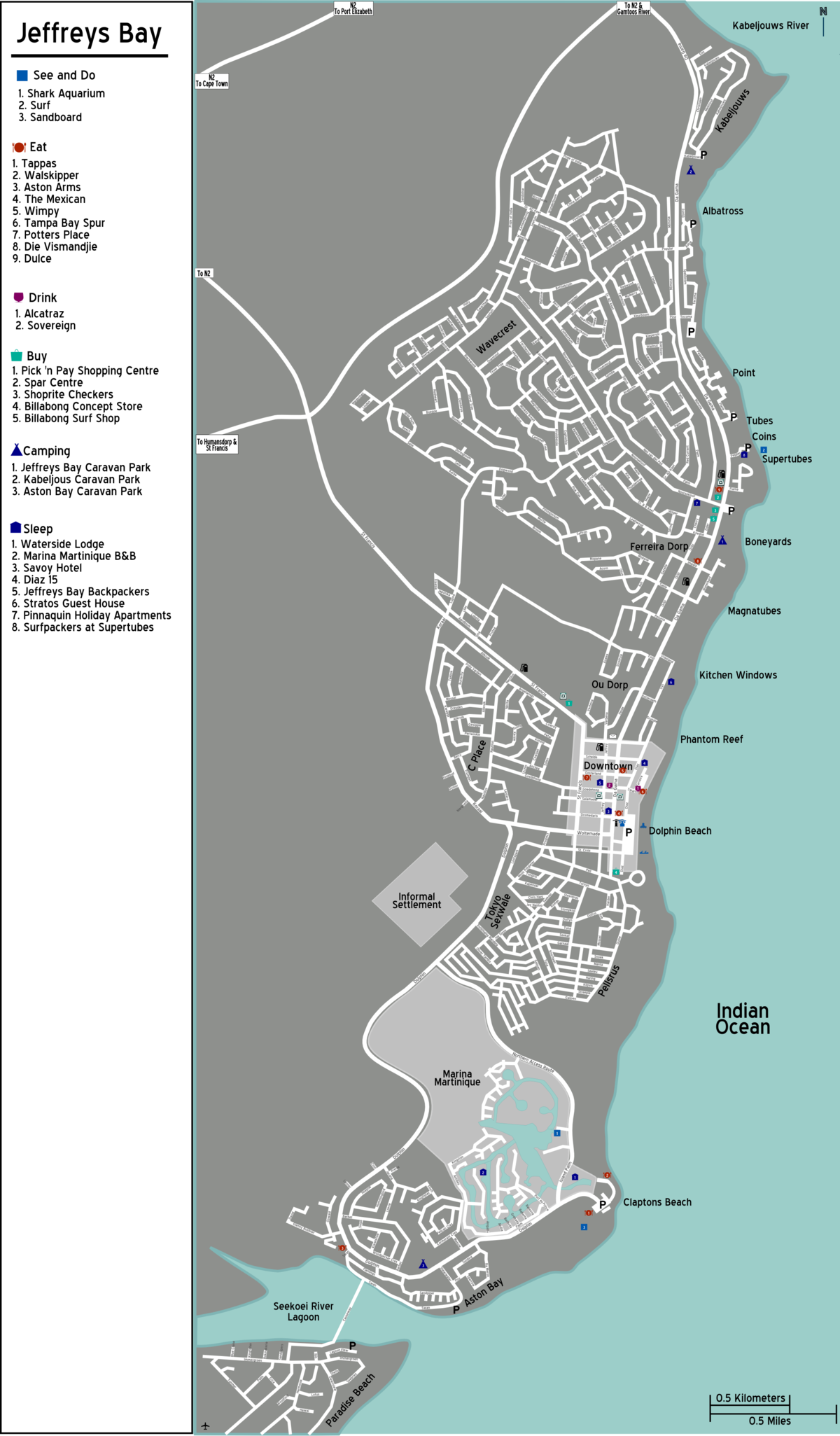 File Map South Africa Eastern Cape Jeffreys Bay01 Png Wikimedia Commons