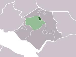 Abbenbroek - Image: Map NL Bernisse Abbenbroek