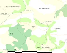 Map commune FR insee code 40301.png