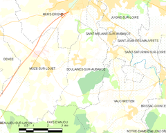 Map commune FR insee code 49338.png
