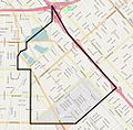 Map of Arleta neighborhood, Los Angeles.jpg