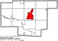 Map of Marion County Ohio Highlighting Marion City.png