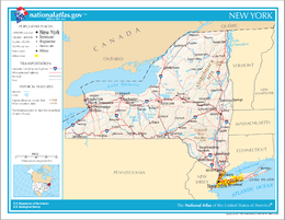 New York – Mappa