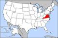 Map of USA highlighting Virginia.png