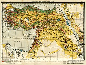 1900 Middle East Map.History Of The Middle East Wikipedia