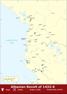 Albanian revolt of 1432–1436