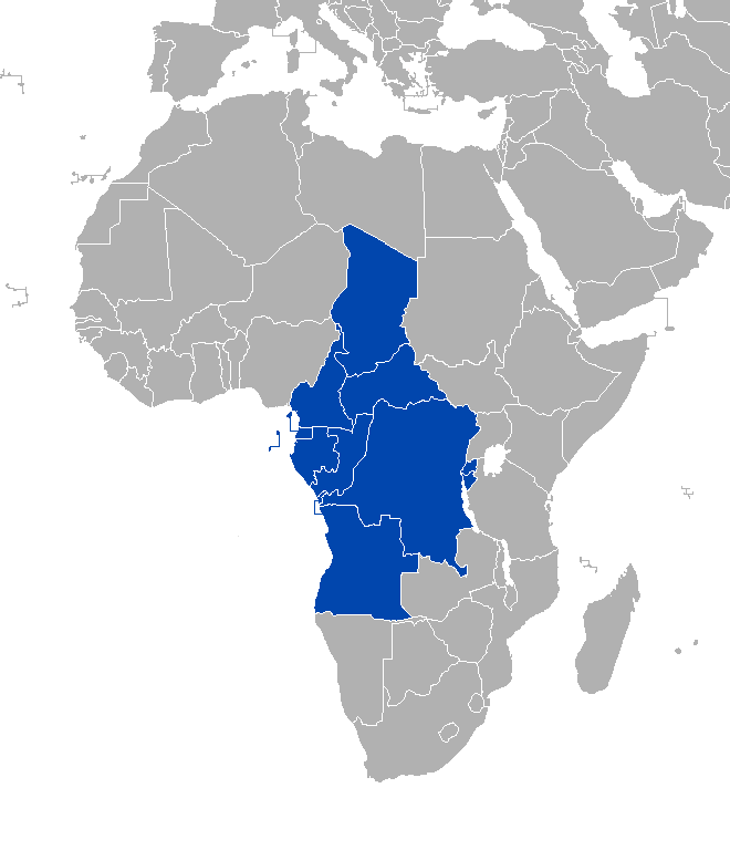 Mapa CEEAC