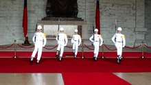 File:Marching Band at Chiang Kai-shek Memorial Hall.ogv