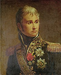Marshal Lannes in French uniform with decorations