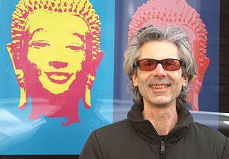 Mark Epstein - Mark Epstein before the Buddha-Bar Restaurant Prague