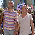 Mark Levengood & Jonas Gardell på Stockholm Pride 2013.jpg