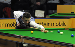 Mark Selby - Mark Selby at the 2013 German Masters.