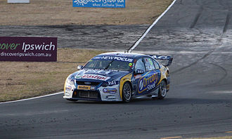 Tickford Racing - Image: Mark Winterbottom at Ipswich