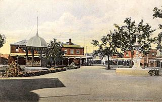 town square in Geelong, Victoria, Australia (defunct)