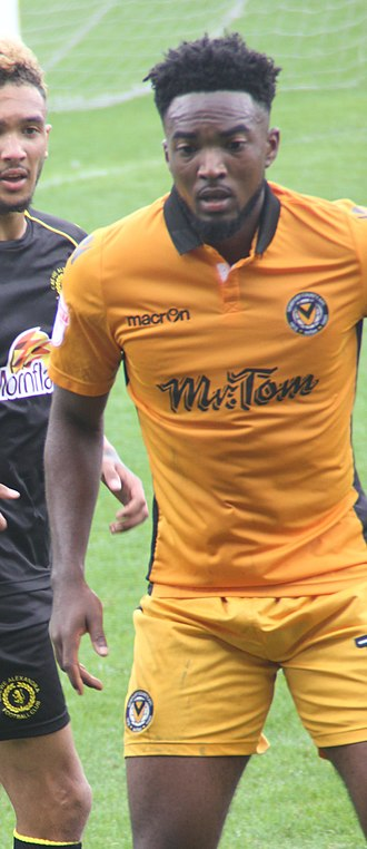 Marlon Jackson (footballer) - Jackson playing for Newport County in 2016