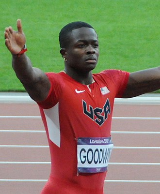 Marquise Goodwin - Goodwin at the 2012 Summer Olympics