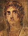 Marriage of Zeus and Hera (detail) Pompeian Art.jpg