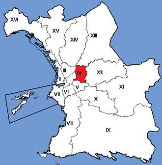 4th arrondissement of Marseille - Image: Marseille Arrondissements 04