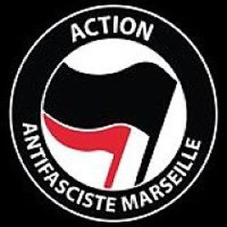 Post-World War II anti-fascism - Image: Marseilleantifa