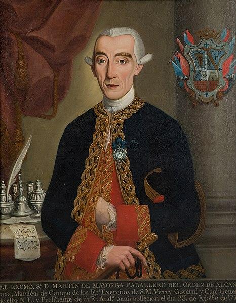 Martín de Mayorga.