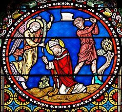 Martyrdom Saint-Austremoine Issoire top.jpg