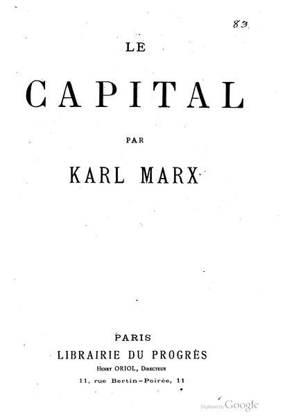 File:Marx - Le Capital, Lachâtre, 1872.djvu