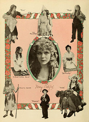 Mary Pickford filmography - Advertisement, 1916.