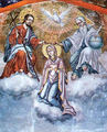 Mary with Angels and Saints Toma Vishanov Rila Monastery Icon 1811.png