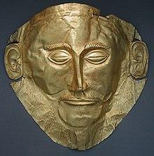 La Maschera di Agamennone d'oro, XVI secolo a.C.