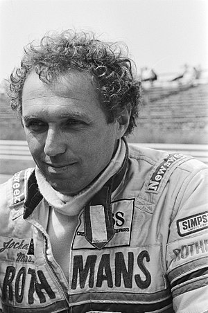 Jochen Mass - Mass at 1982 Dutch Grand Prix