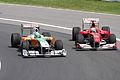 Massa and Liuzzi Canadian GP 2010.jpg