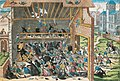 Massacre de Vassy 1562 print by Hogenberg end of 16th century.jpg