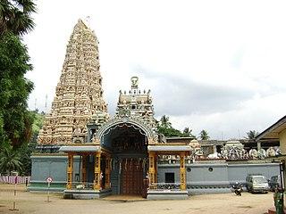 Sri Muthumariamman Temple, Matale Hindu temple in Sri Lanka