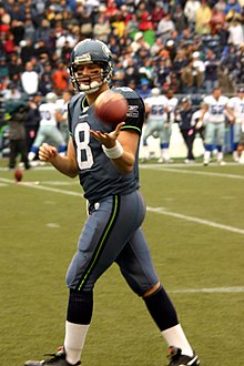 4ad5030af Hasselbeck was 45-19 at Seattle s Qwest Field.