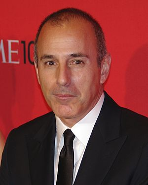 Matt Lauer - Lauer at the Time 100 in 2012