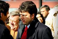 Matteo Renzi all'inaugurazione dell'incubatore per le Imprese di Sesto Fiorentino nel 2009.