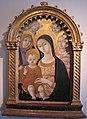 Matteo di giovanni, madonna col bambino con san michele, maria maddalena e angeli.JPG