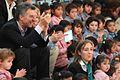 Mauricio Macri asistió a la fiesta inaugural de la Escuela Infantil Nª 12 de Villa Soldati (7296857020).jpg