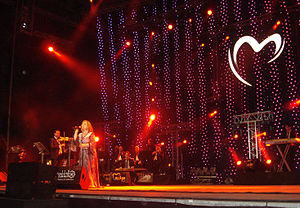 Mayada El Hennawy - Mayada El Hennawy during the Mawazine festival
