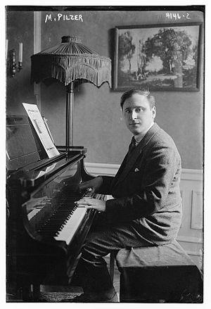 Maximilian Pilzer - Maximilian Pilzer in 1917