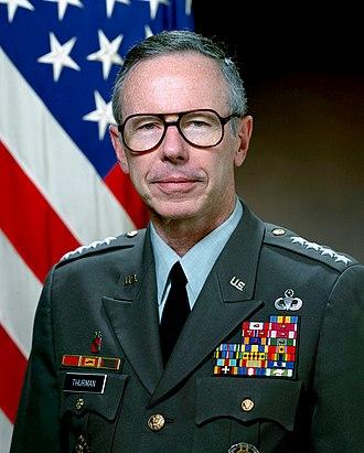 Maxwell R. Thurman - General Maxwell Reid Thurman