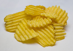 Crinkle-cutting - Image: Mc Coy's Crisps