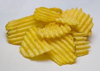 Crinkle-cutting - Image: Mc Coy's Crisps
